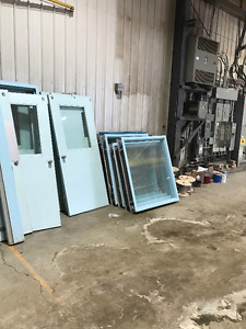 7 - Fire Rated Steel doors (90 min) with frames - $200 each OBO