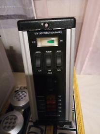 12 volt distribution panel for campervan or caravan