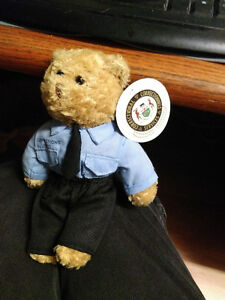 Corrections Hero teddy bear by Torch Run