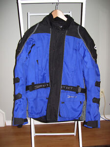 2 lightly used motorcycle jackets