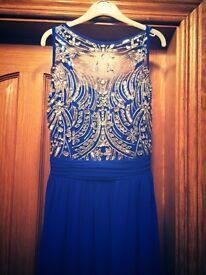 Size 6- royal blue formal dress