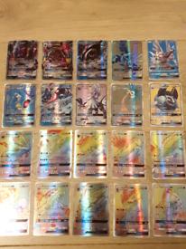 Pokemon GX cards, 20 holographic, set 7,Christmas