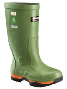"BRAND NEW BAFFIN ""ICE BEAR"" RUBBER WORK BOOTS - SIZE 8"