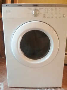 LG Tromm electric dryer