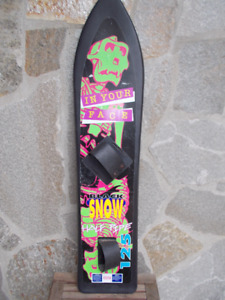 Half Pipe Snow Board