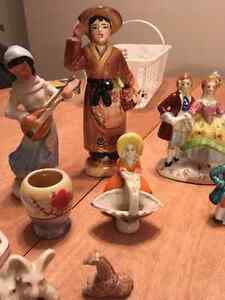 Lot of porcelain figurines. Some made in occupied Japan Cornwall Ontario image 2