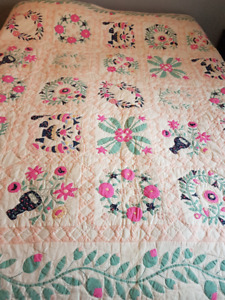 Authentic Antique Handmade Quilt
