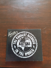 Kutski presents the hardest records in the world right now vol1 signed