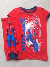 Spiderman Pyjamas Size 8 Years New