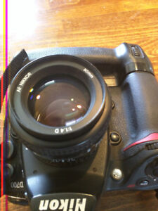 Nikon d700 with booster