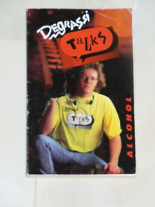 Vintage paperback -- Degrassi Talks Alcohol, with photos