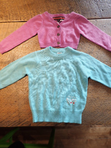 NWT sweaters 6m, lot of 2