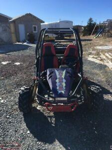 Quantam 150 cc Dune Buggy with reverse