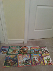 Scooby Doo books- $2.00 each or 8 books for $12.00