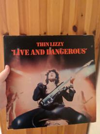 Thin Lizzy – Live And Dangerous 6641807 2 x Vinyl LP Album, UK 1978 H