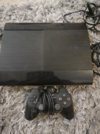 Original ps3 with controller and leads