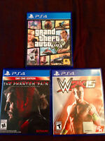 Selling PS4 Games [Perfect Condition]