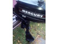 Mercury Petrol Outboard Motor
