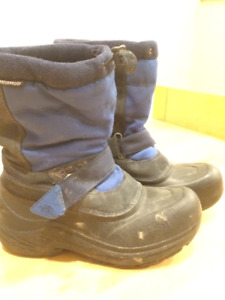 The North Face kids winter boots, size 2