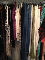 Closet sale. Women's clothing