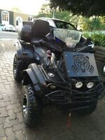 YAMAHA GRIZZLY 2005 6604X4AUTO FULL ÉQUIPE MAGS PASSE 2015