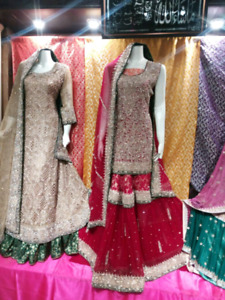 PAKISTANI, INDIAN BRIDAL  & PARTY WEAR