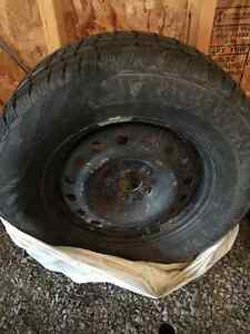 Winter tires and rims! Kingston Kingston Area image 1
