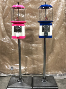 Matching His and Hers Canadian made Gumball Machine Brand New!