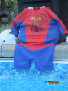 SPIDERMAN FLOATATION BATHING SUIT FOR 65-90 LBS.