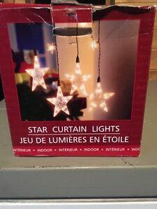 REDUCED/////Hanging Star Lights