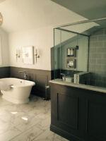 Completed Bathrooms in ONE WEEK