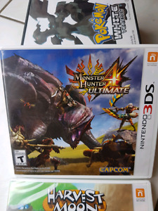 MONSTER HUNTER ULTIMATE 4 3DS GAME