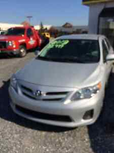 2013 Toyota Corolla at a good price