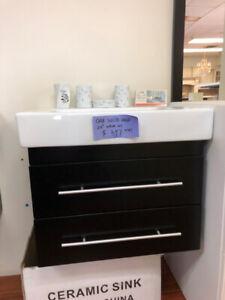 """24"""" Modern Oak Solid Wood vanity set on $ALE now!!!"""