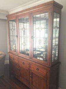 Rustic Wrought Iron Ashley Furniture China Cabinet