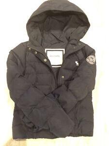 Manteau Abercrombie noir pour enfant XL