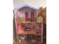 Barbie/Sindy dolls house 3 floors