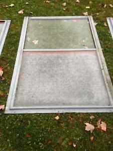 Fenêtres et porte en aluminium