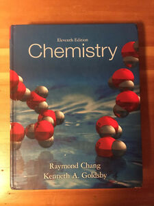 Chemistry 11th Edition Raymond Chang and Kenneth A. Goldsby