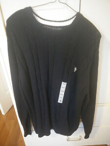 polo assn sweater Size large .