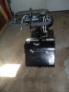 5.0 HP Rear Tine Tiller with Counter Rotating Tines
