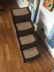 Tall Pet Stairs for Cats and Dogs