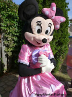 Minnie Mouse mascot costume for rent pink dress