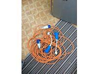 30m caravan 3pin Electric cable