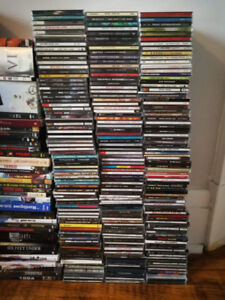 Collection de cds à vendre