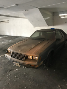 1980 FORD MUSTANG Hatchback 4 Cylinder Automatic One Owner Car