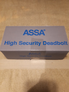 ASSA HIGH SECURITY DEADBOLT