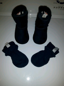 Baby Boy Cozy Boot size 4