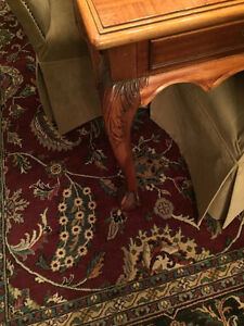 Beautiful Antique Table, Chippendale Style, Ball and Claw Feet London Ontario image 2