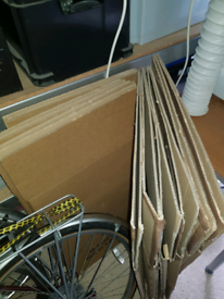 Packing or moving boxes (large) x 6